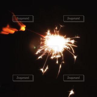 手持ち花火の写真・画像素材[1311300]