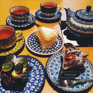 ケーキ,紅茶,ポーリッシュ,デザートスイーツ