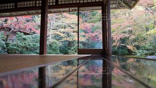 大きな窓の景色の写真・画像素材[933536]