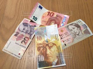 世界の外貨の写真・画像素材[1102750]