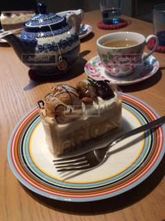 食べ物,秋,秋の味覚,栗のケーキ