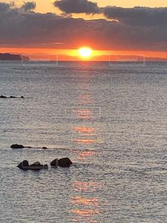 自然,風景,海,空,太陽,水面,海岸,光,日の出