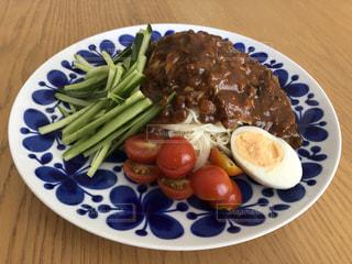 ジャージャー素麺の写真・画像素材[3564956]