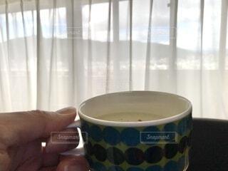 一杯のスープの写真・画像素材[3722929]
