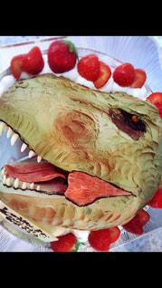 プレゼント,恐竜ケーキ