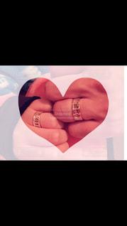指輪,仲良し,手作り