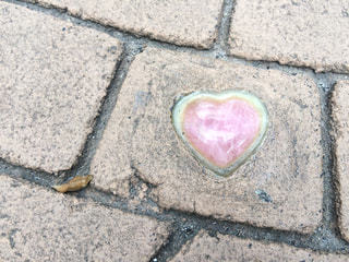 ピンク,ハート,縁結び,島根,ハートの石畳