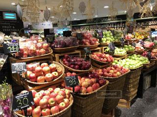 カラフル,フルーツ,果物,りんご,タイ,新鮮,スーパー,フレッシュ