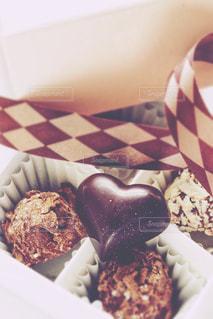 ハート,洋菓子,リボン,チョコレート,バレンタイン,バレンタインチョコレート,お菓子スイーツ