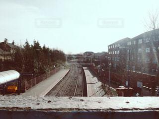 線路の写真・画像素材[1254054]