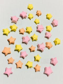 ピンクの花のグループの写真・画像素材[1286877]