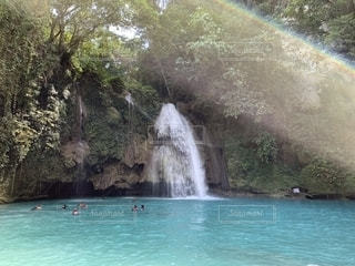 自然,風景,景色,滝,旅行,フィリピン,セブ,海外旅行,セブ島,カワサン滝,カワサンフォール