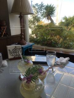 カフェ,夏,レモネード,窓のあるカフェ