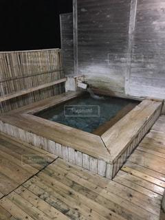 木製の床と建物の写真・画像素材[751892]