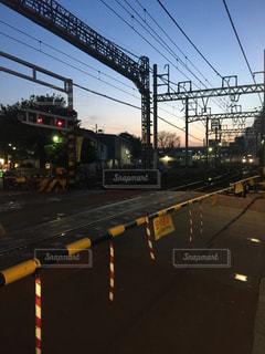 #夕暮,#街角風景,#下板橋駅,#下板橋だけど豊島区,#踏切