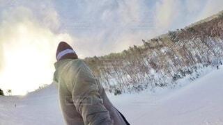 アウトドア,冬,自撮り,雪,山,セルフィー,運動,スキー場,スノーボード,ウィンタースポーツ,スノボ女子