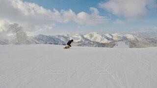 自然,アウトドア,空,冬,雪,屋外,雪山,北海道,山,景色,運動,ゲレンデ,スキー場,スノーボード,ウィンタースポーツ,ウインタースポーツ,パウダースノー,キロロ