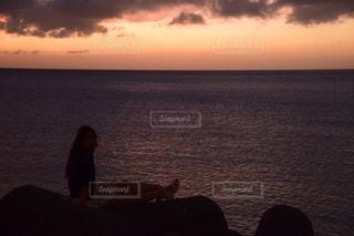 海,夕日,ビーチ,沖縄,観光,旅行,sunset