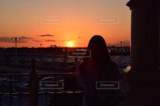 夕日,観光,旅行,sunset,東京ディズニーランド