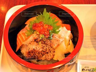 食事,おいしい,海鮮丼