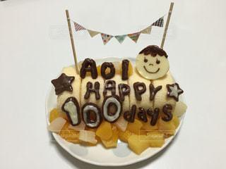 スイーツ,ケーキ,フルーツ,手作り,お食い初め,生後100日目