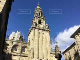 教会と青空の写真・画像素材[1096602]
