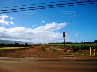 観光地,アメリカ,観光,旅行,交差点,ハワイ,ノースショア,ワイキキ,オアフ島,風景写真,心象写真,散歩写真