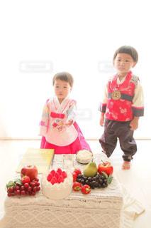子供,仲良し,可愛い,韓国,誕生日,兄弟,1歳,子育て,ツーショット