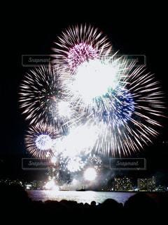 琵琶湖花火大会の写真・画像素材[917422]