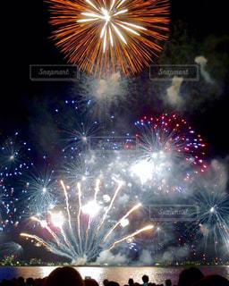 琵琶湖花火大会の写真・画像素材[917424]