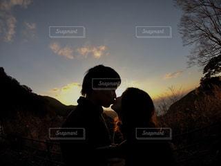 夕焼けshotの写真・画像素材[983790]