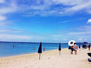 自然,海,空,夏,カップル,屋外,ビーチ,砂浜,海岸,沖縄,旅行