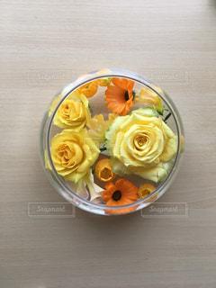 花,黄色,バラ,イエロー