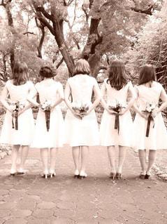 友人の結婚式前撮り撮影会!ブライズメイド楽しかった〜の写真・画像素材[783431]