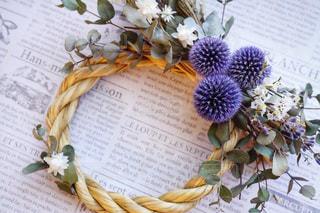 花,フラワーアレンジメント,ドライフラワー,フラワーアレンジ,花のある暮らし,花のある生活,フラワーレッスン,しめ縄リース,お正月アレンジ