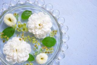 テーブルの上の花の花瓶の写真・画像素材[944780]