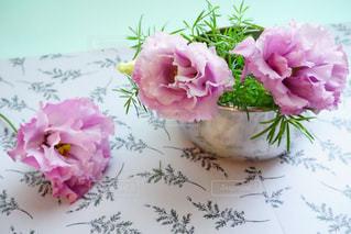 花のクローズアップの写真・画像素材[2121293]