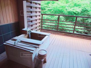 露天風呂の写真・画像素材[755007]