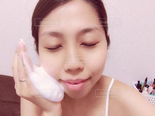 泡洗顔の写真・画像素材[975120]