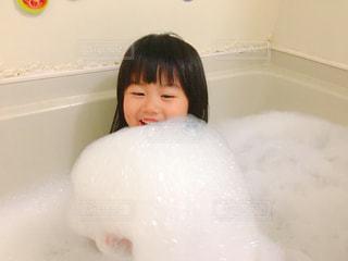 泡風呂楽しいの写真・画像素材[1174386]