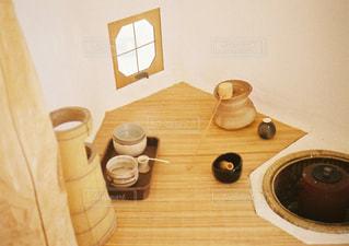 木製テーブル - No.1058347