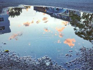 雨上がりの空模様の写真・画像素材[2223244]