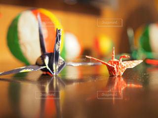 結婚式,日本,羽,披露宴,和紙,鶴,折り鶴,ツーショット,和婚