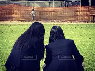 仲良し女子高生の写真・画像素材[491103]