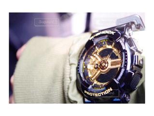 黒,腕時計,時計,金,G-SHOCK