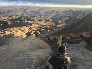 ブロモ山頂からの景色の写真・画像素材[787024]