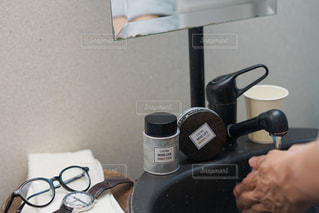ワックス使用前の写真・画像素材[2448545]