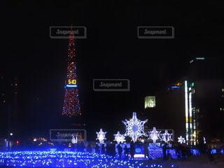 札幌ホワイトイルミネーションの写真・画像素材[909980]