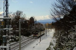 冬列車の写真・画像素材[1673761]