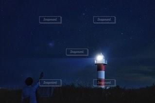 灯台下暗しの写真・画像素材[3596344]